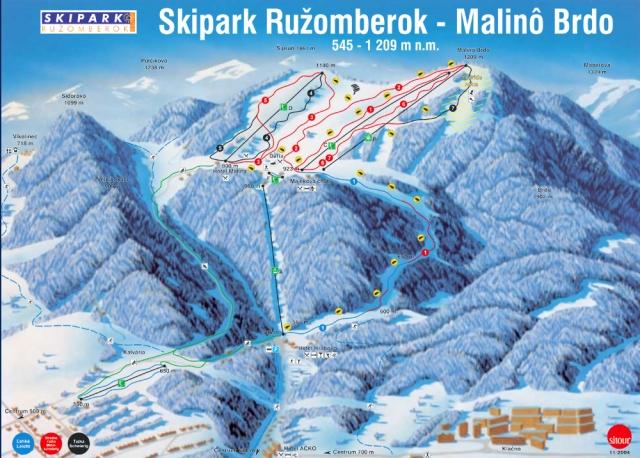 Zimní dovolená na Slovensku