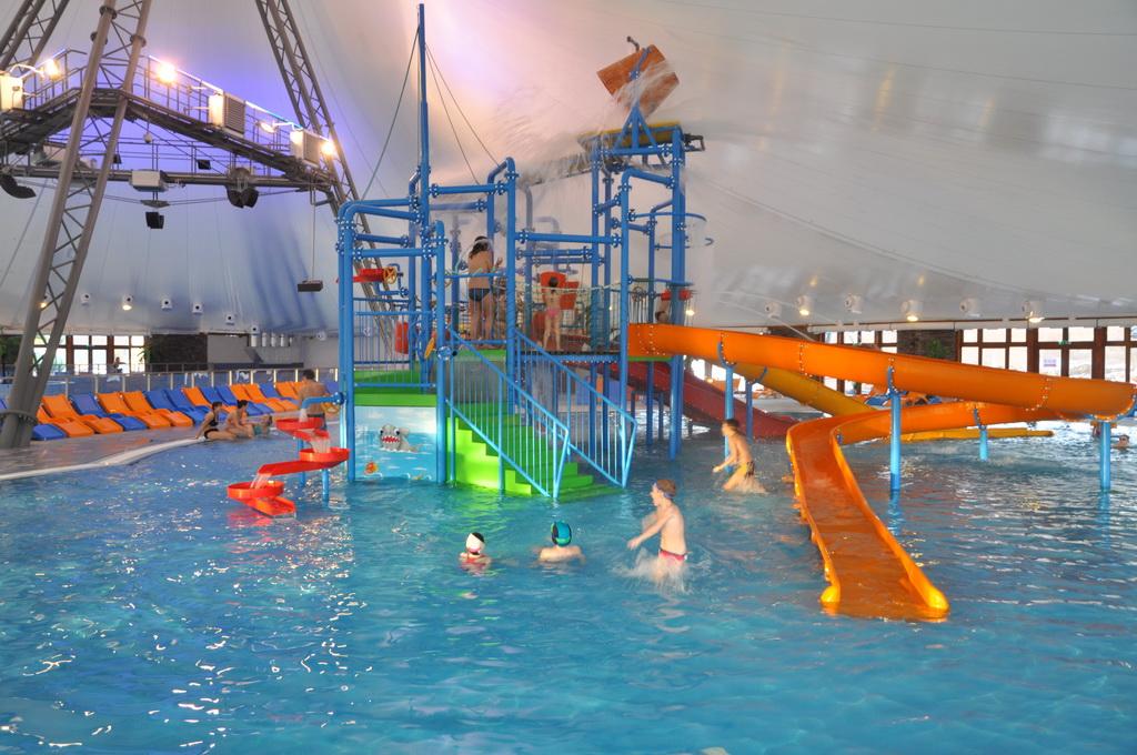Dovolená na Slovensku. Liptov. Termální aquapark & wellness Bešeňová.