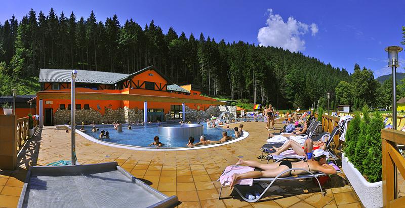 Termální lázně Lúčky - dovolená na Slovensku