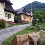Vlkolínec - dovolená na Slovensku