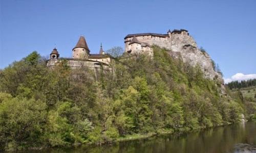 Oravský hrad - dovolená na SLovensku