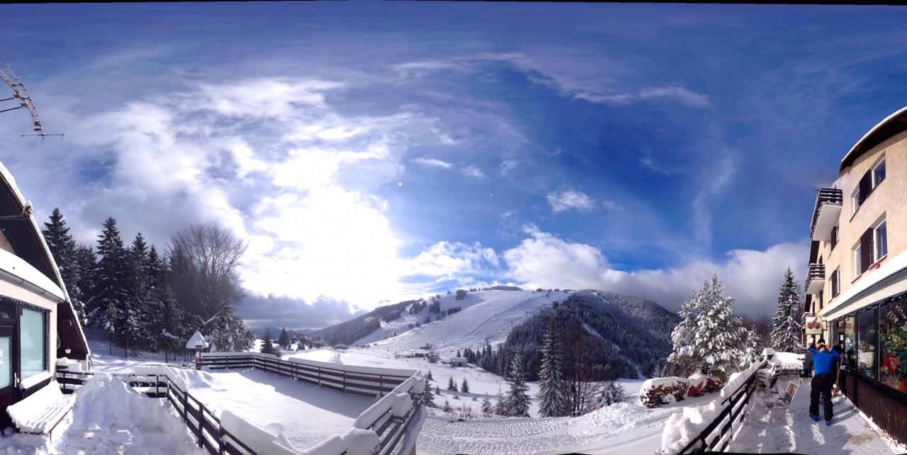 Ružomberok - lyžiarske stredisko Skipark