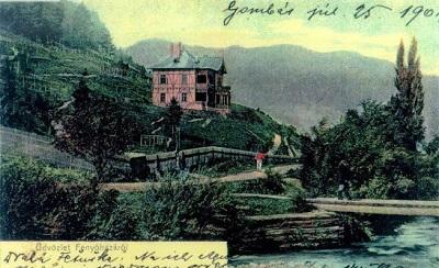 Ubytování na Slovensku historická vila
